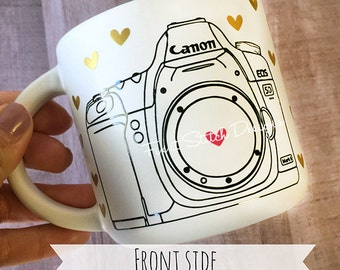 Canon Camera Mug - Photography Mug - Camera Mug- Canon - Canon Camera Mug - Coffee Mug- Photography - Photographer - Coffee - Mugs
