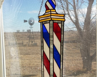 Stained Glass / Barber Pole