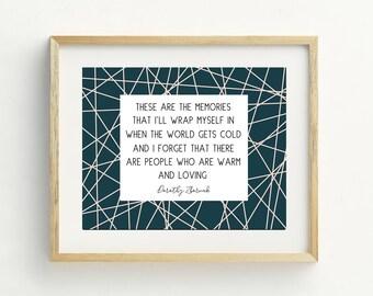 Golden Girls -Dorothy Zbornak-Golden Girls Print-PRINTABLE-Friendship-Abstract-Typography-8x10-Wall Art-Inspirational-Gallery Wall-Love