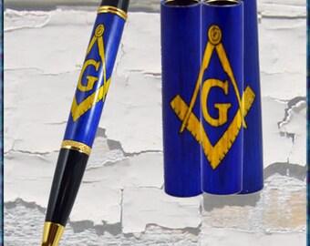 Masonic Emblem Pen