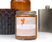Spiked Cider: Apple Cider Scented Brown Soy Candle with Smoky Bourbon by Wilfred Wax
