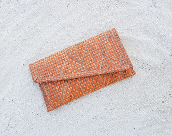 Gift for her / Foldover clutch / Unique gift for mom / Clutch purse / Handmade purse