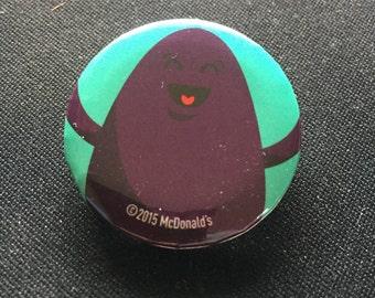 McDonald's Button Grimace