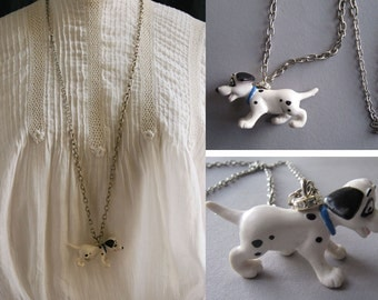 a Dalmatian to my neck suspended: necklace pendant that puts the casually to your trendy Art-minimalist look