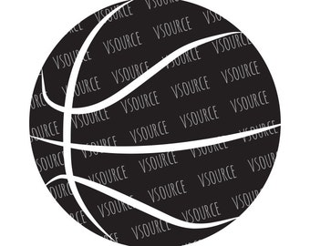 Svg - Basketball SVG - Basketball SVG Files for Cricut and Silhouette - Basketball Cut Files - Basketball Clipart - Basketball