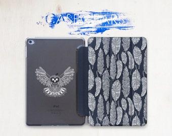 Owl iPad Mini 2 Feather iPad 3 case iPad Air 2 case cover ipad 2 cover ipad 4 ipad 4 cover iPad Mini 3 case ipad mini cover CGSC011