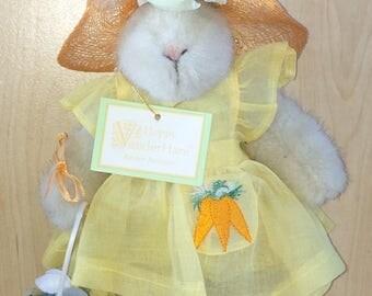 Hoppy Easter Fantasy - Hoppy Vander Hare - Muffy Vander Bear Friend - North American Bear Co. - Easter Rabbit - Easter Bunny Toy - ZM-2