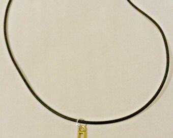 Gold Cross Pendant Choker/Neclaces