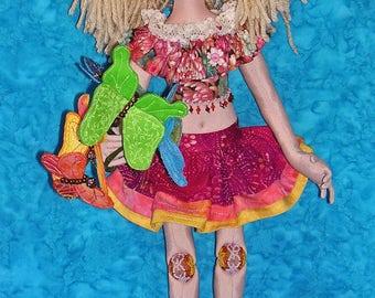 NH704E – Summer Joy, Cloth Doll Pattern