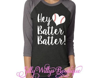 Hey batter batter shirt, Baseball shirt, baseball mom shirt, softball mom shirt, Unisex shirt
