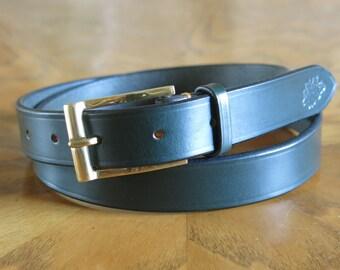 Bridle Leather Belt/Parisian Buckle