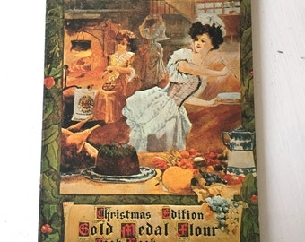 Gold Medal Flour Christmas Cookbook 1904