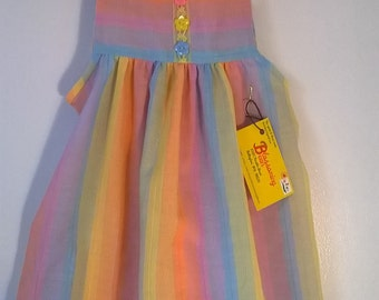 Peach Sherbet Toddler Dress