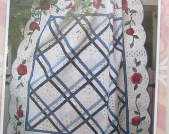 CLEARANCE-Crazy Old Roses quilt pattern, Fiddle-Dee-Dee-Designs
