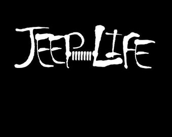 Jeep Life Decal
