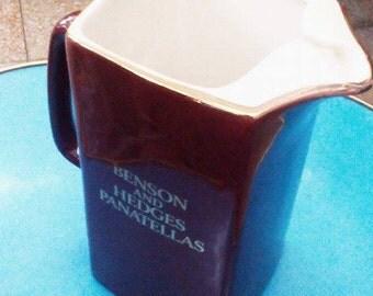Vintage Benson and Hedges Water Jug
