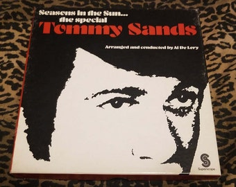 Tommy Sands  Seasons In The Sun 4-Track 3 3/4 IPS Reel to Reel Tape ** Vintage Easy Listening