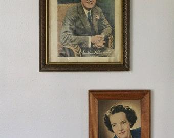 FDR Vintage Portrait