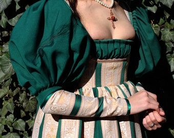 Renaissance Dress, Fantasy Dress, Cosplay Dress, Historical Dress, Renaissance Costume, Fairy Dress, Renaissance Gown, Historical Costume