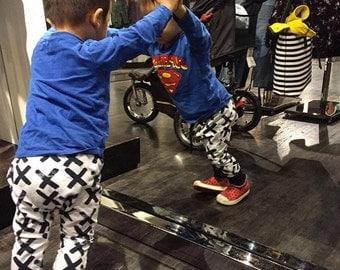 Baby Black Xs Harem leggings