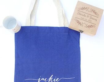 Bridal totes, bridal bags, monogrammed tote, monogrammed bag, personalized totes, bridesmaid tote, bride tote, bridesmaid gift