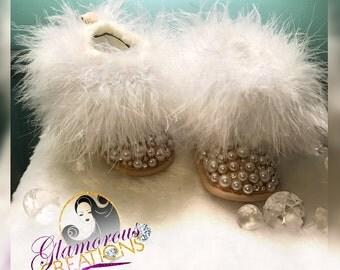 Baby Fur booties