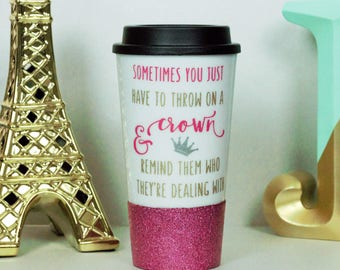 tumbler, glitter tumbler, cut tumblers, personalized tumbler, travel tumbler, tumblers, cute gift, mugs with sayings, cute coffee mug, mugs