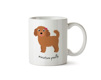 Miniature Poodle Mug (girl)