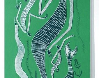 Fabric Art Panel - Yawkyawk Designs by Eva Nganjmirra