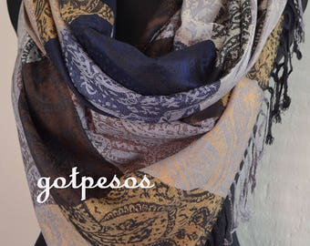 Pashmina Scarf multicolor, Scarf for Women, Shawl