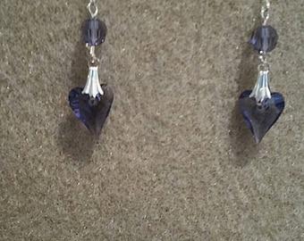 0180-Swarovski Wild Heart Earrings