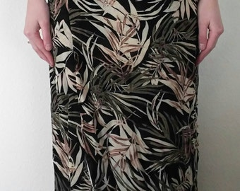 Vintage Reversible Jungle Skirt
