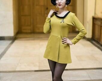 ready to ship! Star Trek the Original Series uniform dress