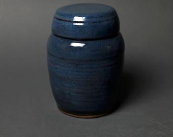 Handmade Jar, Cookie Jar, Biscuit Jar, Canister