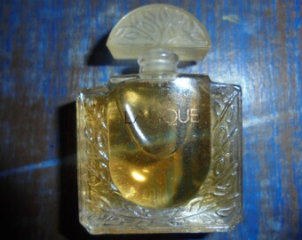 Valentine Parfume LALIQUE miniature/RARE/1990/7,5 ml/ Full/ Design LALIQUE