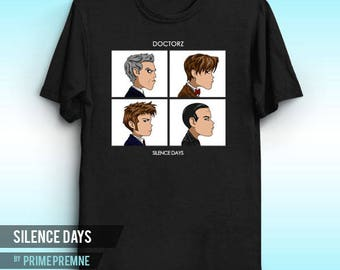 Silence Days - Gorillaz Inspired | Doctor Who Shirt | Timelord | Fantasy Tee | Doctor Shirt