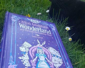 Alice in Wonderland Book Purse