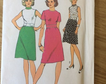 Simplicity 6209 1974 Vintage Dress Sewing Pattern 18