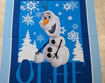 Olaf-Frozen Panel Cotton Fabric