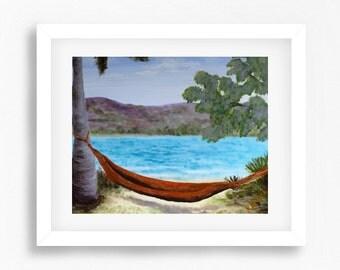 Abstract Beach, Beach Print, Coastal Decor, Coastal Art, Beach Landscape, Ocean Decor, Australian Art,  Australian Artist, Australian Beach