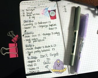 Hobonichi style Daily Planner, TN Refill, Travelers Notebook Insert, Fauxdori, Printed Booklet, Notebook, Midori Refill, Handmade Notebook