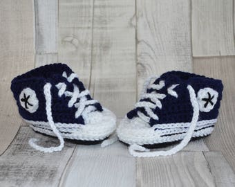 Baby Shoes Sneakers - Navy