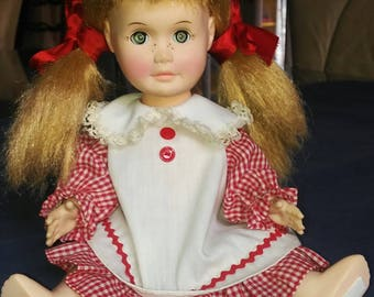 """See Shop For Coupon Vintage Effanbee 1961 Susie Sunshine Doll 11"""" Freckled Cutie Sleep Eyes"""