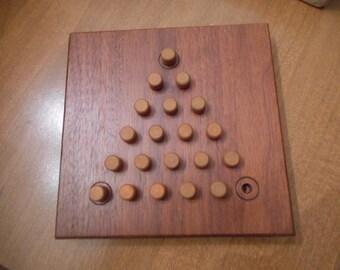 Tri Puzzler Peg Game - Setko Bartlett Illinois - Original Box