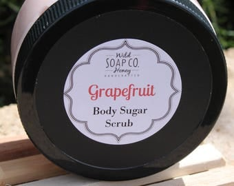 Grapefruit Body Sugar Scrub