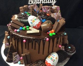 Happy Birthday Cake Topper/Birthday Cake Topper/Happy Birthday Cake Decoration