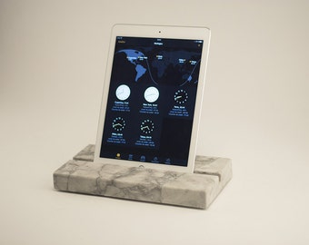 Marble stone granite kitchen living room - marble stand Ipad ipad tablet support