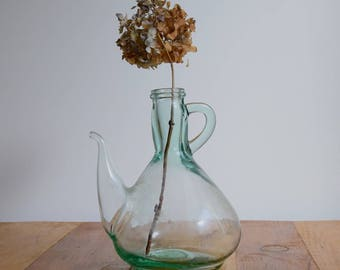 Glass vase, Collectible bottle, Glass bottle, Flower vase, Bud vase, Glass container, Wedding centerpiece, Apothecary bottle, Oil bottle,