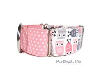Martingale collar, greyhound collar, dog collar, XS dog collar, XL dog collar, fabric dog collar,  nylon dog collar, mix collar