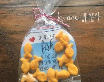 Fish bowl Valentine cards